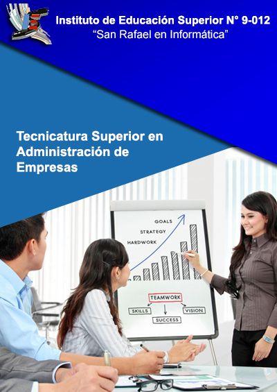 TECNICATURA SUPERIOR EN ADMINISTRACIÓN DE EMPRESAS